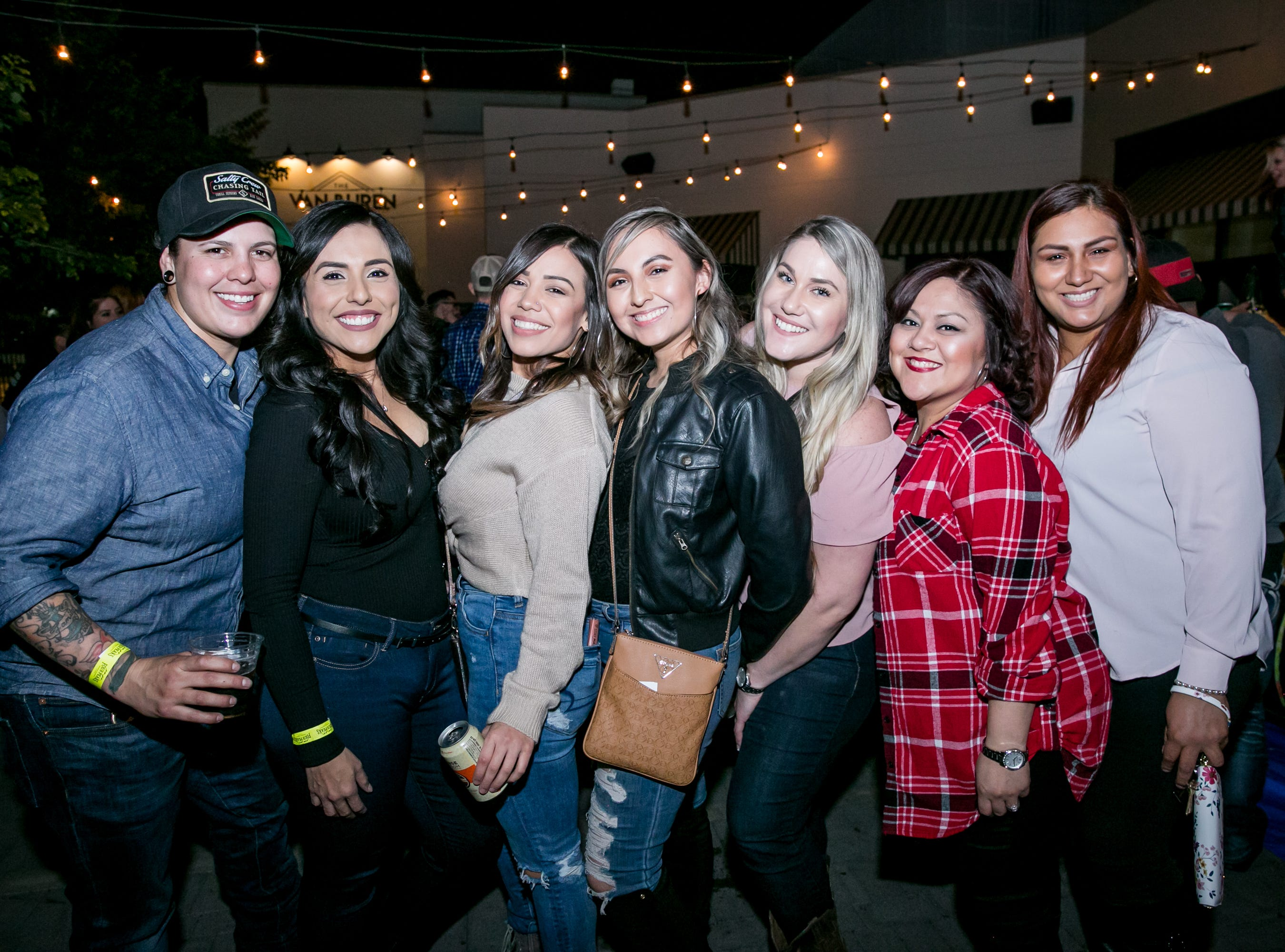 This group liked it, loved it, and wanted some more of it during the KMLE Country 90's Throwback at The Van Buren on Friday, Jan. 11, 2019.