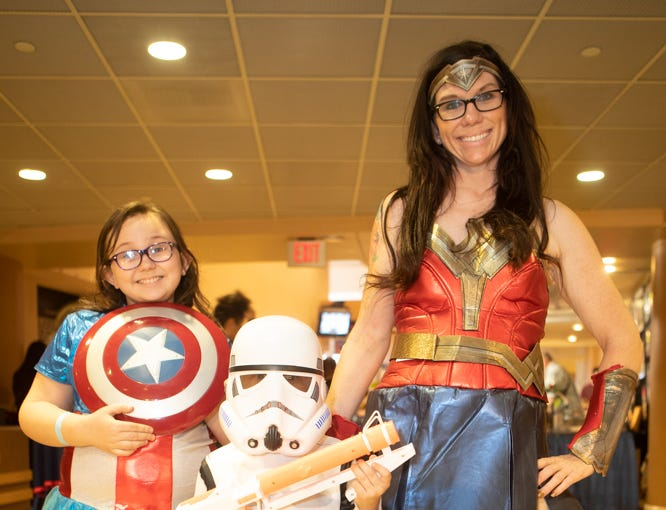 Cosplay fans dressed up as their favorite characters for Ace Comic Con 2019 at Gila River Arena in Glendale on Jan. 11-13.