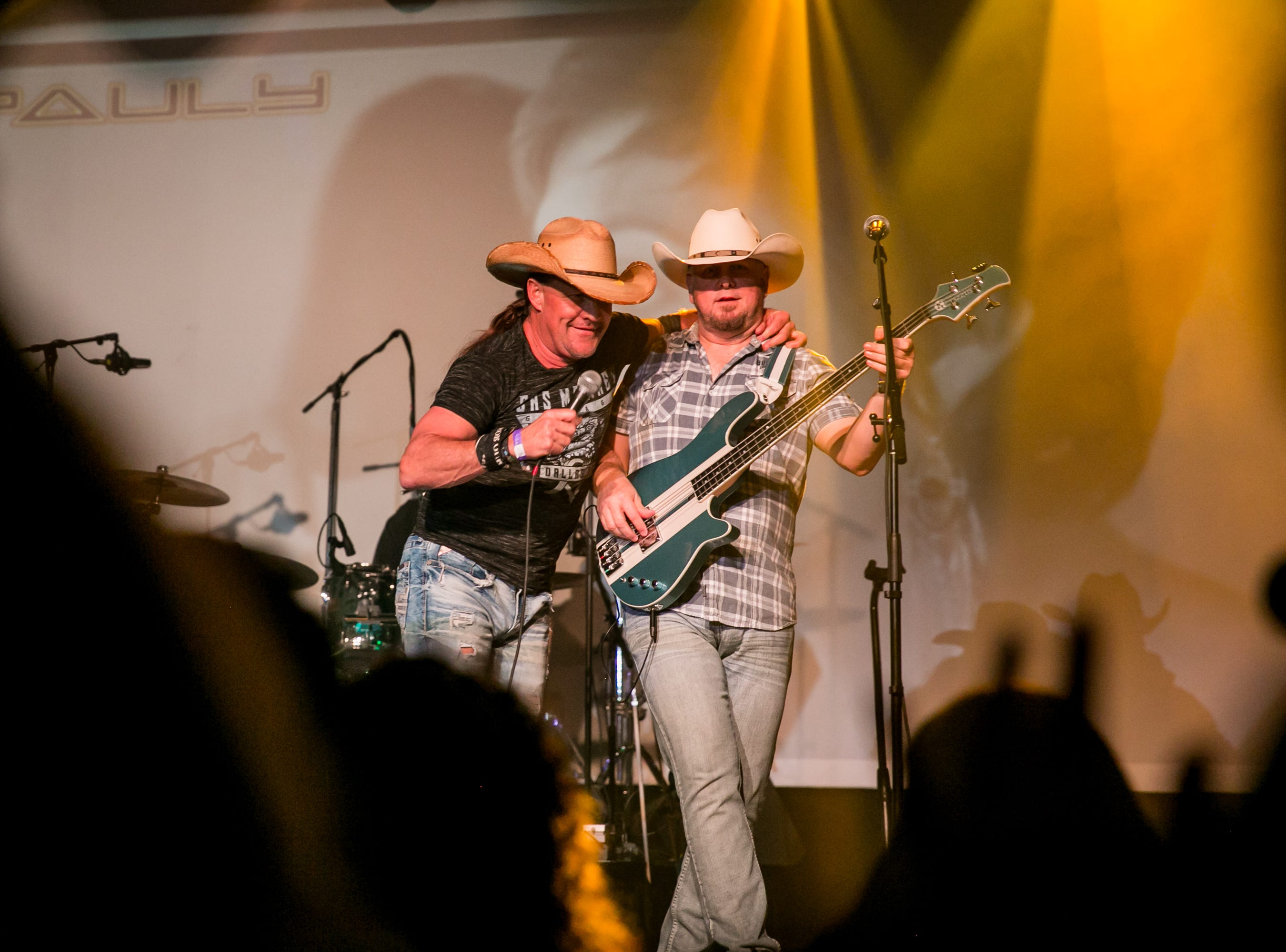 Mogollon performed the classics during the KMLE Country 90's Throwback at The Van Buren on Friday, Jan. 11, 2019.