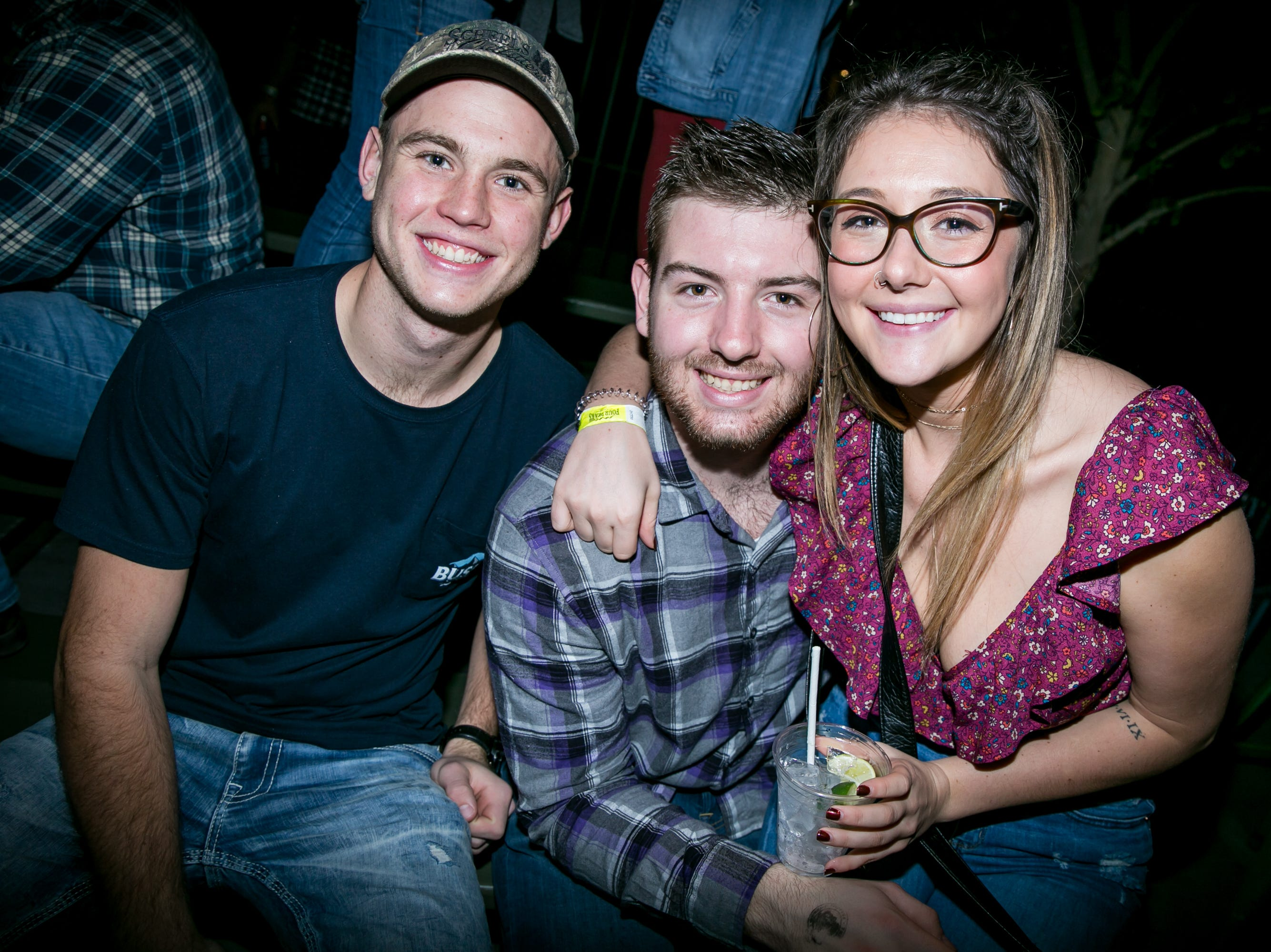 These guys didn't rock the jukebox during the KMLE Country 90's Throwback at The Van Buren on Friday, Jan. 11, 2019.