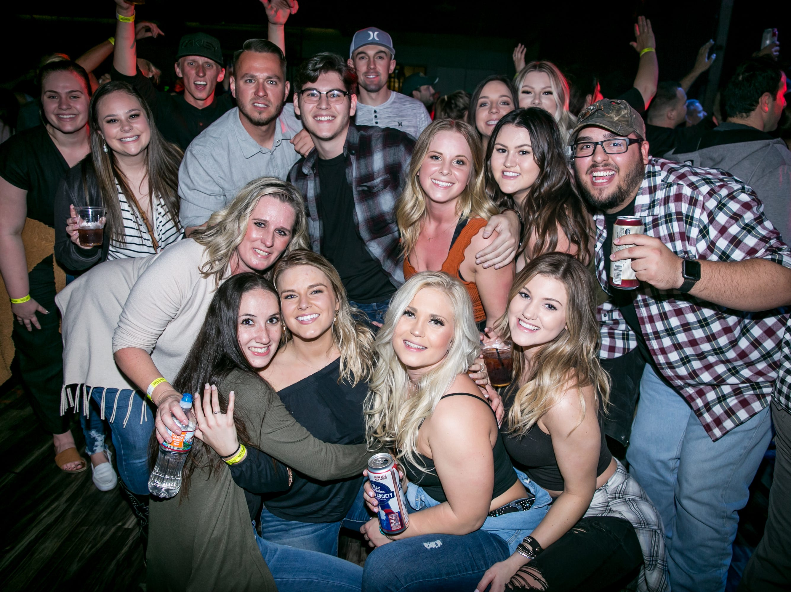 """The dance floor came to life during """"Friends in Low Places"""" during the KMLE Country 90's Throwback at The Van Buren on Friday, Jan. 11, 2019."""
