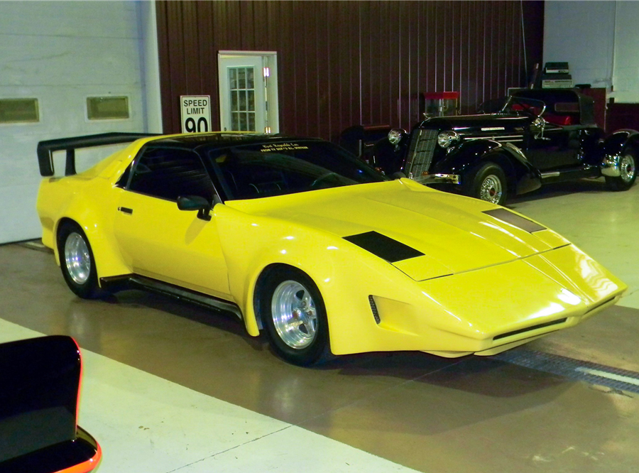 "This 1988 Pegasus Trans Am ""BL Stryker"" is being auctioned off at Barrett-Jackson in Scottsdale on Tuesday."