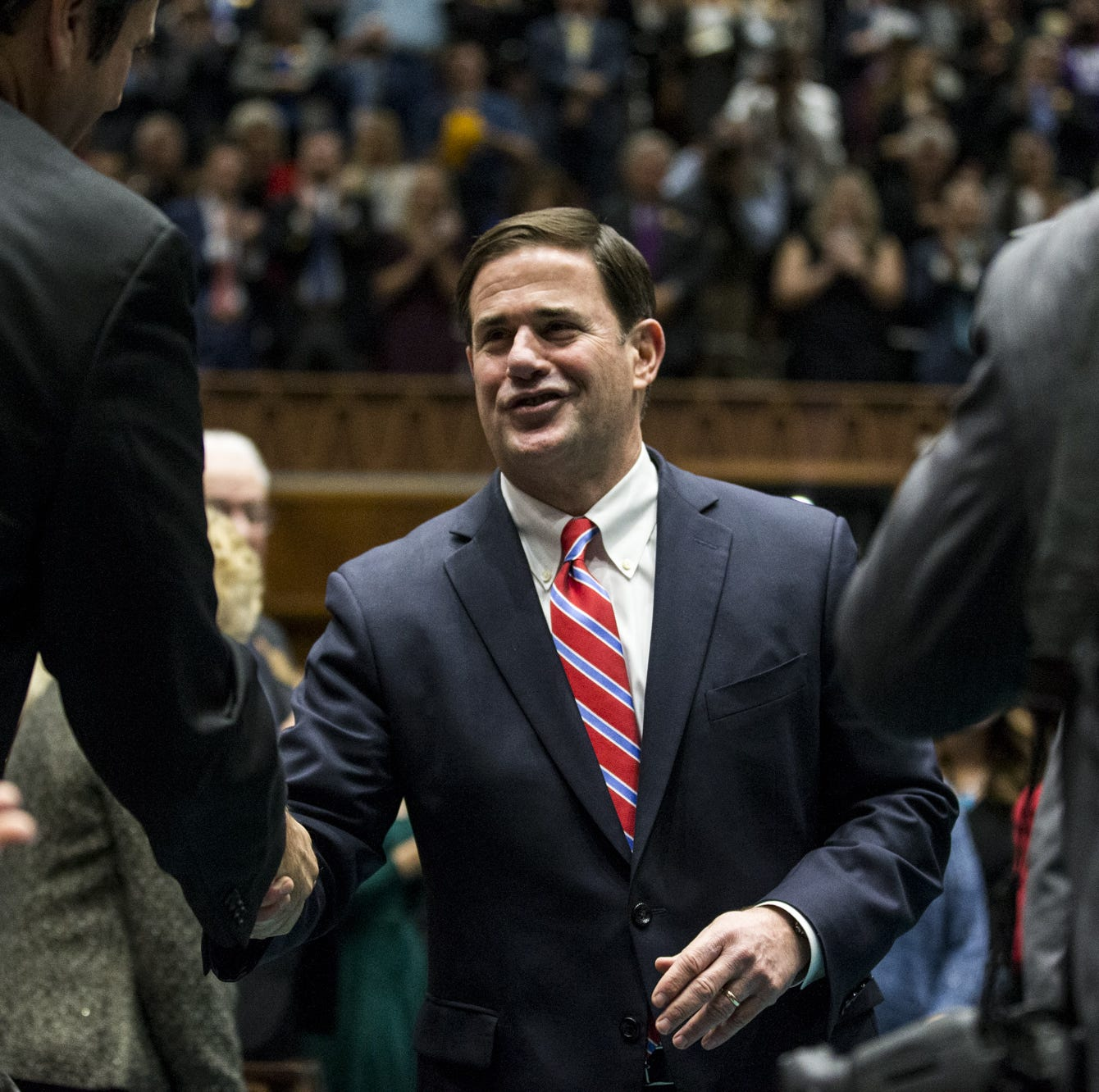 Arizona Gov. Doug Ducey defies political divisions in his 2019 State of the State address