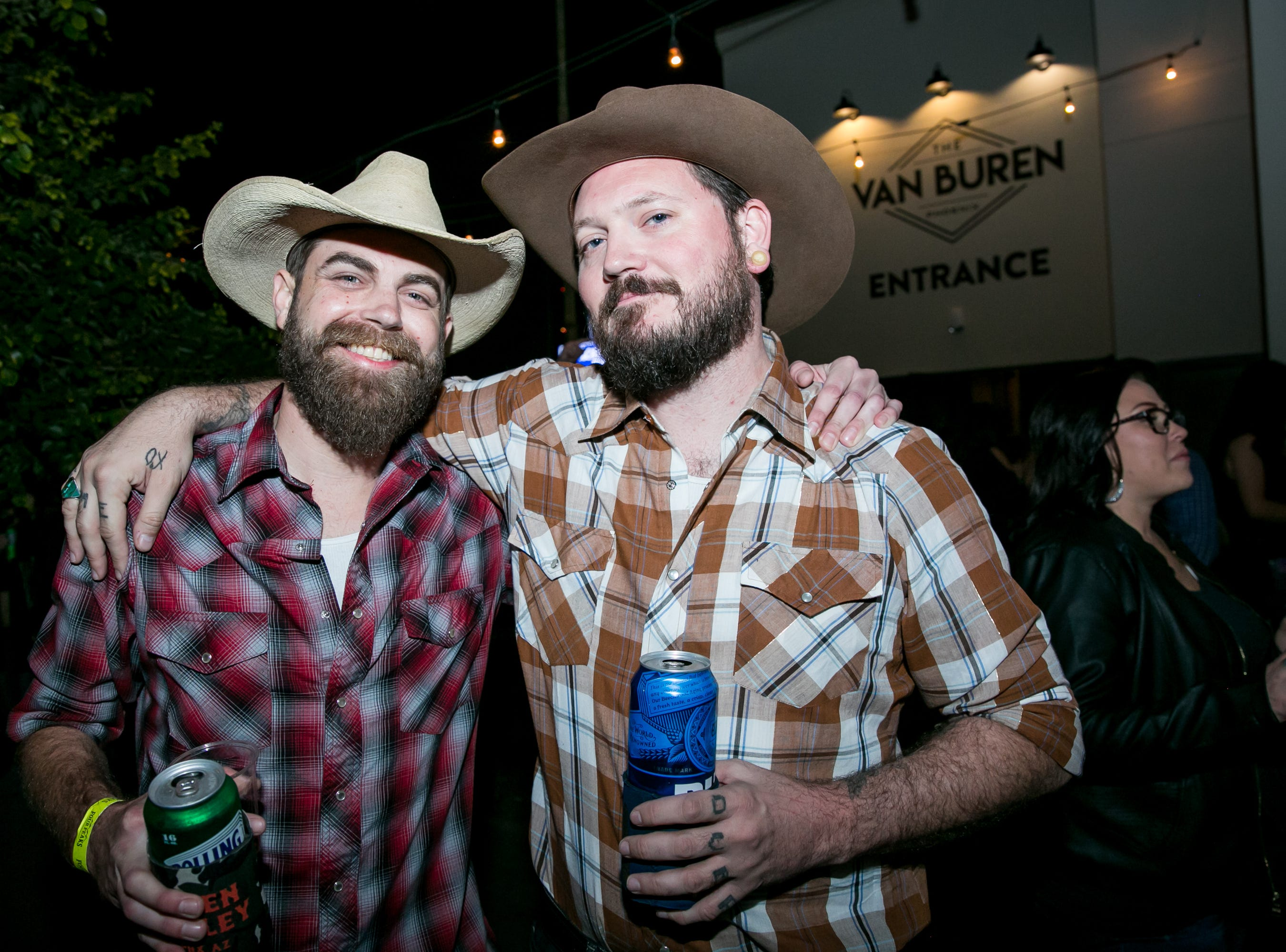 These fellas had too much fun during the KMLE Country 90's Throwback at The Van Buren on Friday, Jan. 11, 2019.