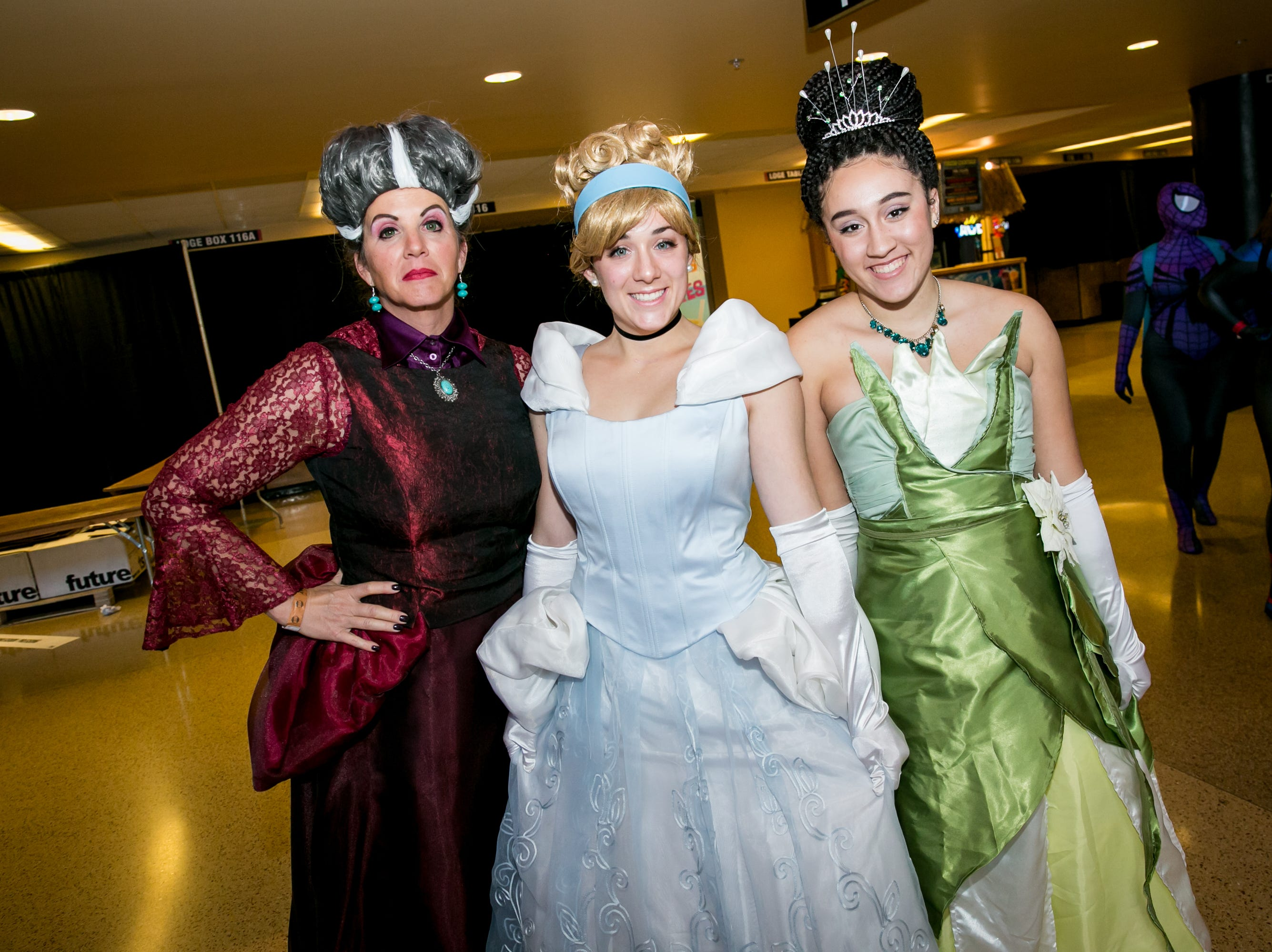 This Disney trio looked fantastic during Ace Comic Con at Gila River Arena in Glendale on Sunday, Jan. 13, 2019.
