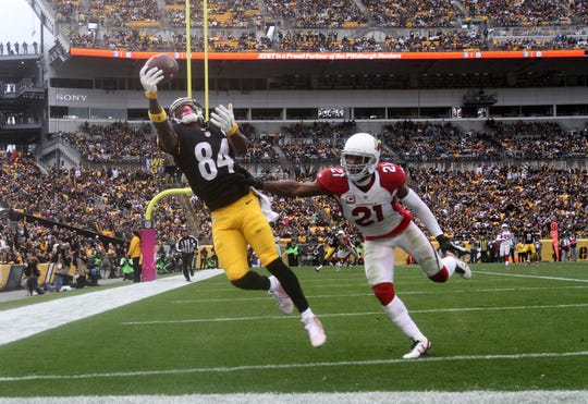 How would the Cardinals look with Antonio Brown and Patrick Peterson on the team?