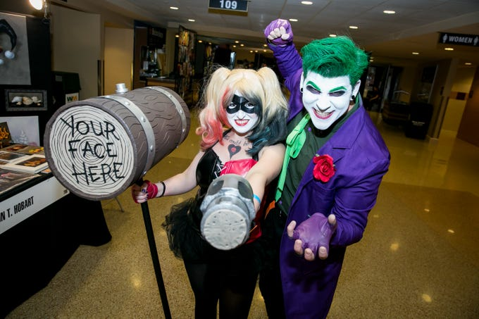 These villains looked fantastic during Ace Comic Con at Gila River Arena in Glendale on Sunday, Jan. 13, 2019.