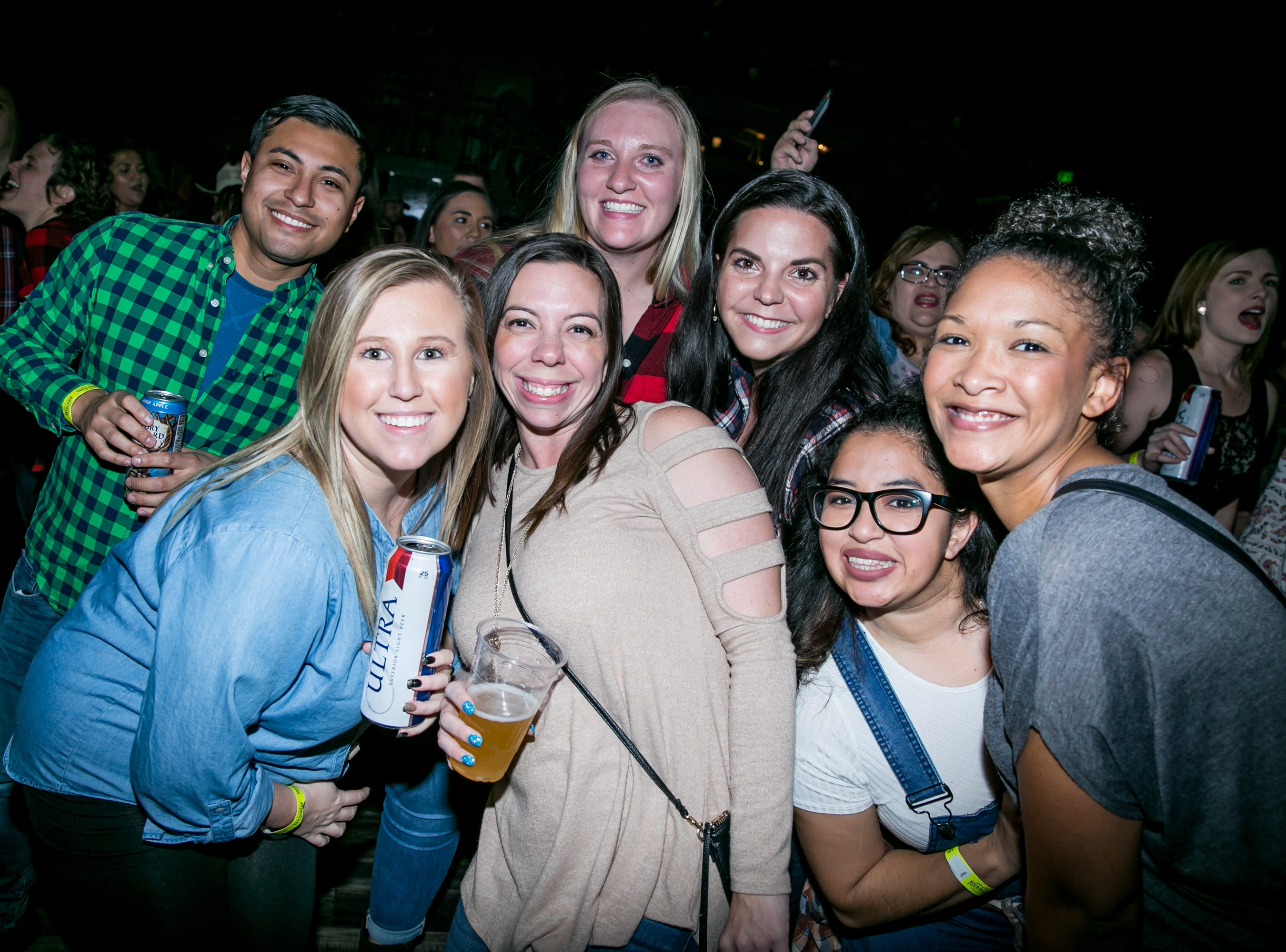 These pals got rowdy during the KMLE Country 90's Throwback at The Van Buren on Friday, Jan. 11, 2019.