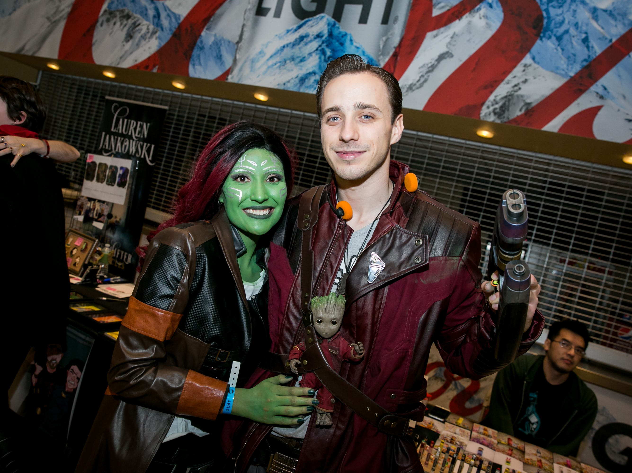 This Guardians of the Galaxy cosplay was awesome during Ace Comic Con at Gila River Arena in Glendale on Sunday, Jan. 13, 2019.