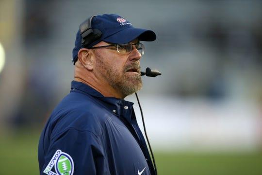 Former UTEP head coach and Denver Broncos assistant Sean Kugler.