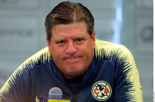 Miguel 'Piojo' Herrera, DT del América.