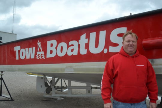 Captain Jake Dunfee owns Rescue Marine, which is the TowBoat U.S. tower for the Lake Erie Islands area.