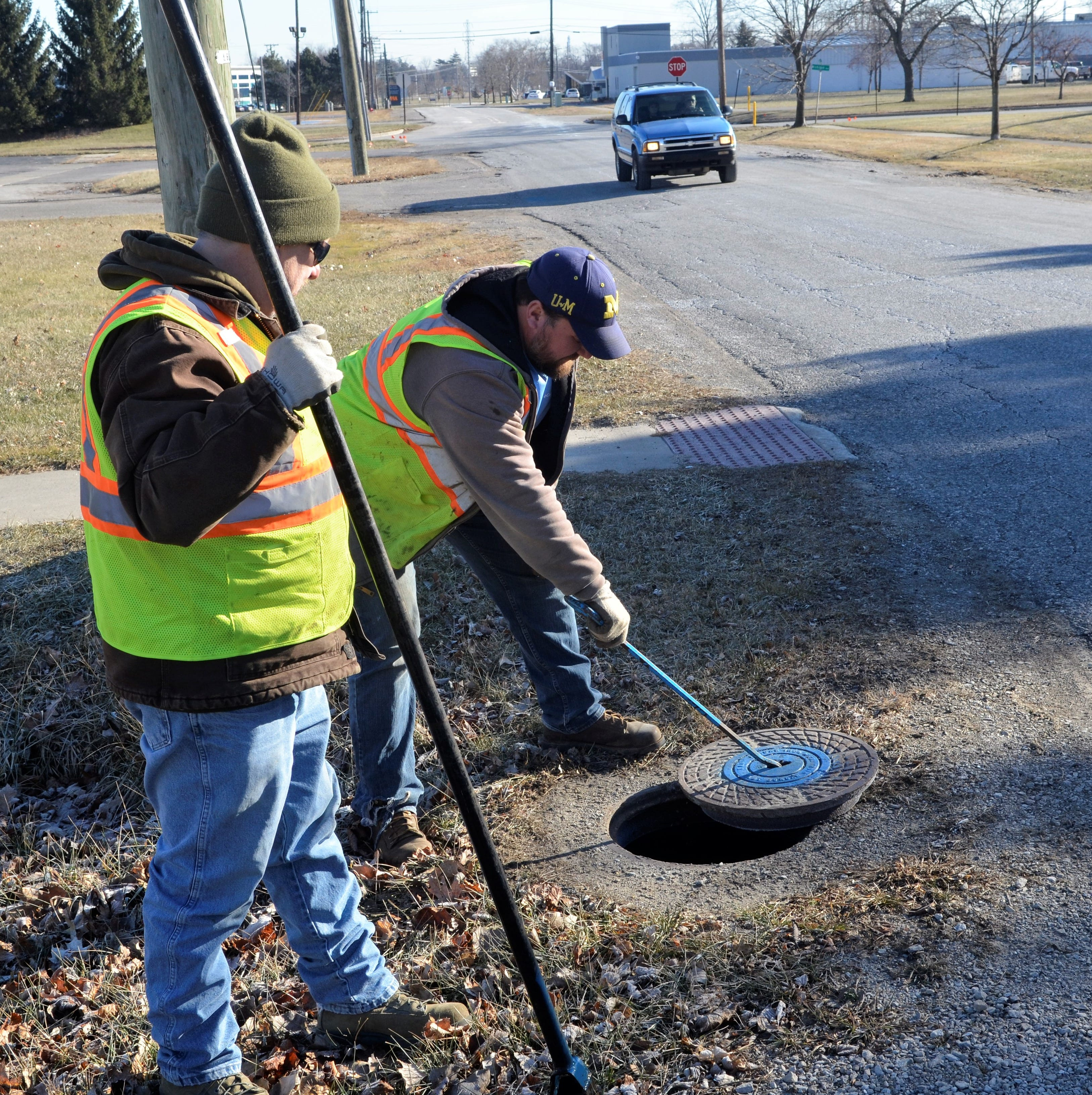 Mild winter frees up crews from pothole patching