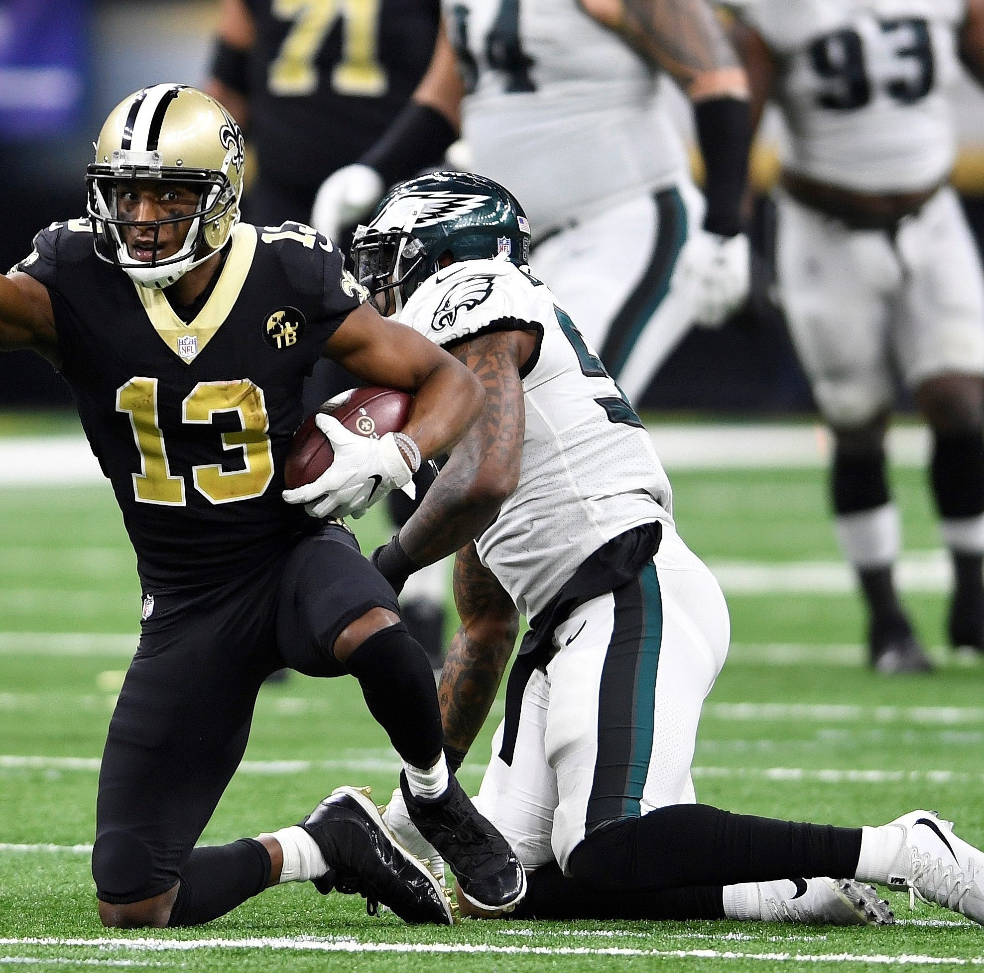 After sizzling start, Philadelphia Eagles fizzle in NFC playoff loss to New Orleans Saints