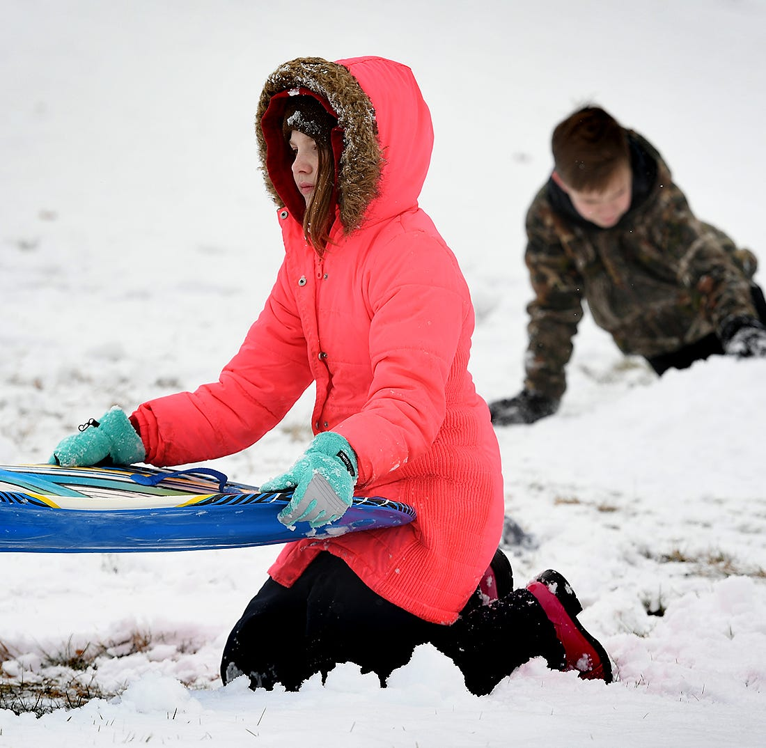 20 below in York County? Snow through weekend to usher in arctic blast