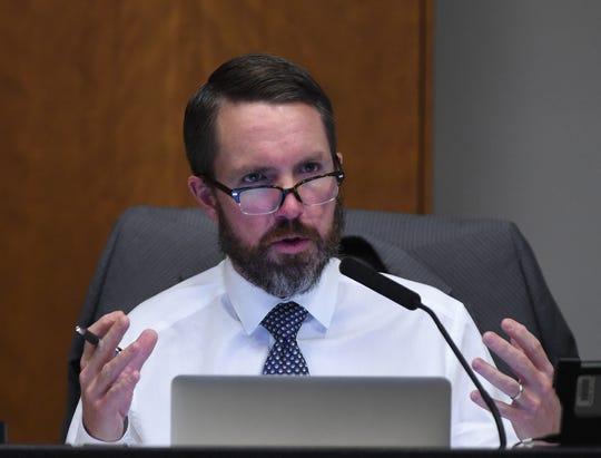 David Bobzien at the Dec. 13, 2017 Reno council meeting.