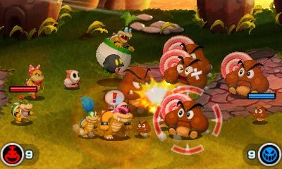 "Battle alongside the Koopalings in ""Mario & Luigi: Bowser's Inside Story + Bowser Jr.'s Journey."""