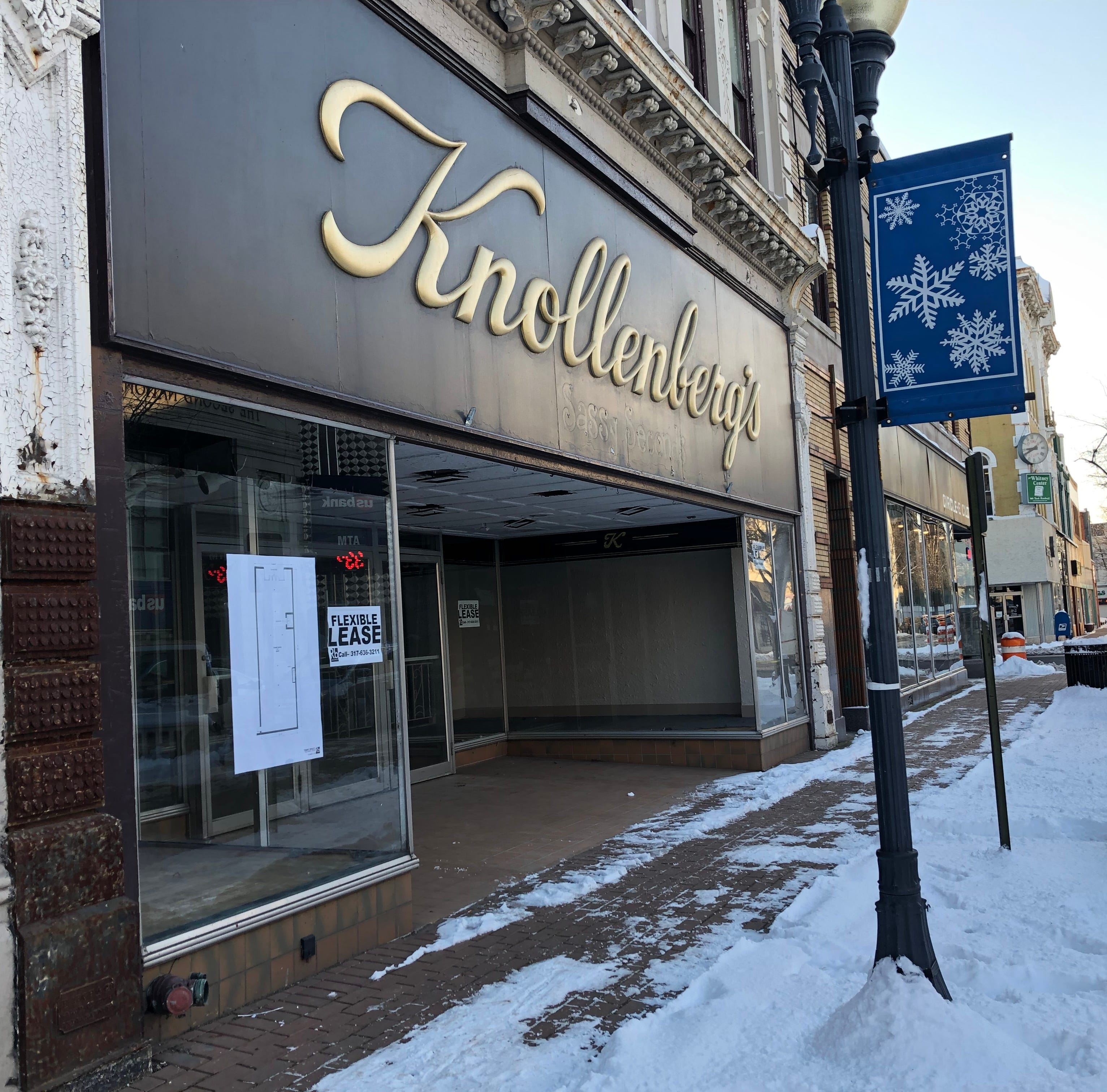 There's movement toward new life for Knollenberg's building