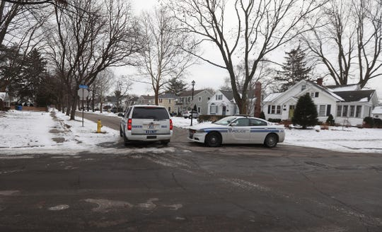 Rochester police investigated an early morning report of a person with a shotgun at a Farmington Road home.