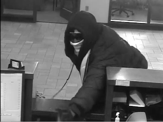 Police are searching for this man who robbed a Citizens Bank at 800 Paul Road in Chili on Jan. 14, 2019.