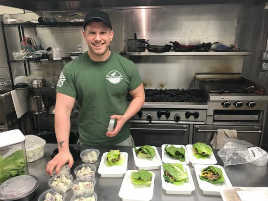Caleb Hoag lost 100 pounds before opening his food plan business Savage Chef.