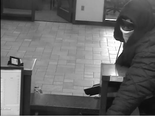 Police are searching for this man in connection to an armed robbery at Citizens Bank, 800 Paul Road in Chili on Jan. 14, 2019.