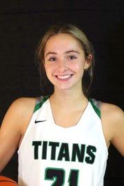 Maddie Bertsch, West Salem basketball