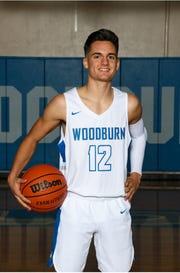Woodburn senior guard RJ Veliz