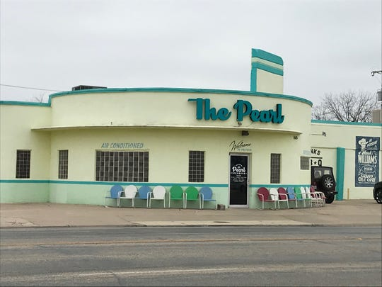 The Concho Pearl Icehouse, 1605 S Chadbourne St., prepares to reopen as a music venue and bar, with food by Courtney Hampton.