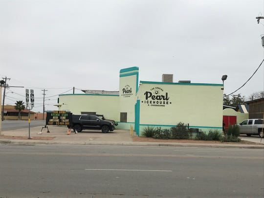 The Concho Pearl Icehouse, 1605 S Chadbourne St., prepares to reopen as a music venue in this photo taken Jan. 14, 2019.