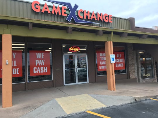 Storefront of Game X Change, 3562 Knickerbocker Road.