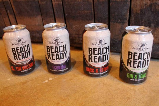 Lewes-based Beach Time Distilling recently released four ready-to-drink canned cocktails.