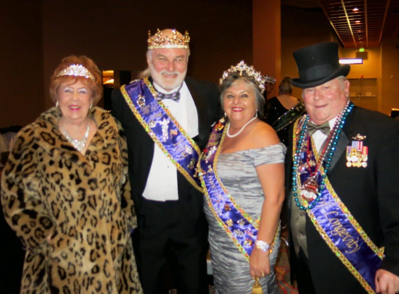 Krewe Artemis-Springhill Grand Bal was Saturday at Harrah's Louisiana Downs Red River Room.