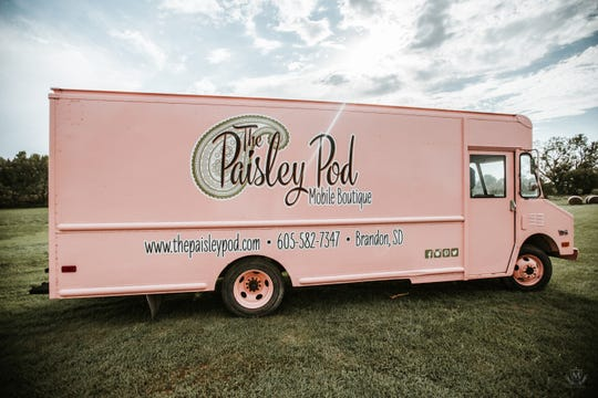 The Paisley Pod is the only mobile boutique store in the area.