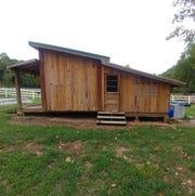 "Nikolas ""Nik"" Monteiro built a chicken coop for a camp as his Eagle project."