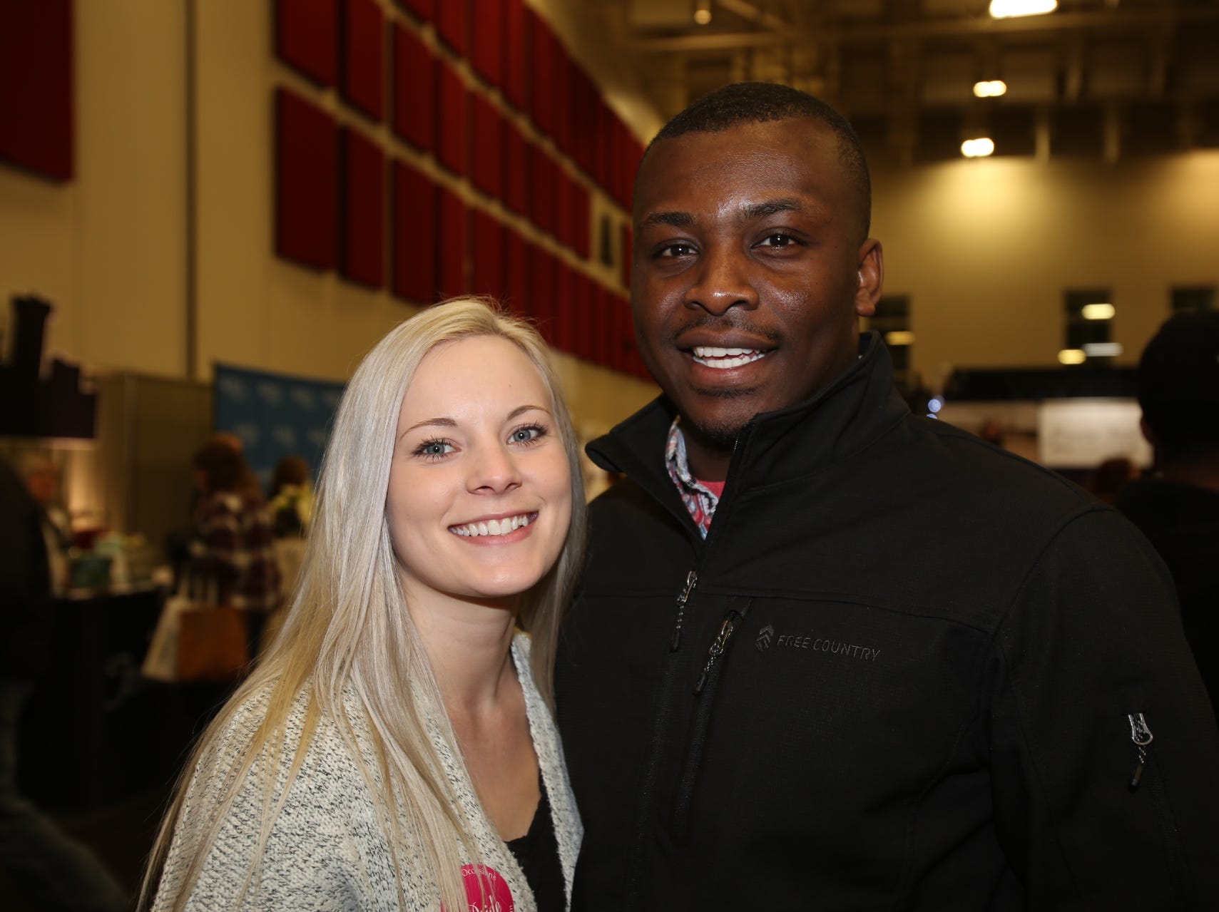 Misty Parnell and Emmanuel Nkwocha