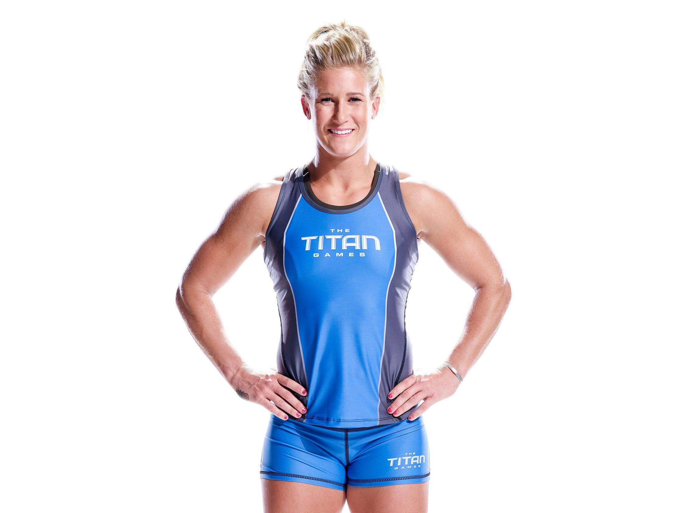 "Jessica Griffith, of Springfield, will compete Jan. 17 on Dwayne ""The Rock"" Johnson's new hit show on NBC ""The Titan Games."""
