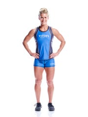 """Jessica Griffith, of Springfield, will compete Jan. 17 on Dwayne """"The Rock"""" Johnson's new hit show on NBC """"The Titan Games."""""""