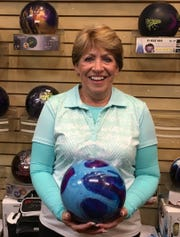 Bev Whitehead rolled her first 500 series and first 200 game last week at the Virgin River Bowling Center.