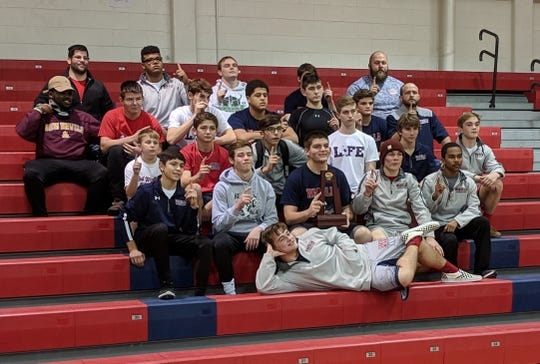 Wakulla's wrestling team captured a District 2-1A title last week with wins over Godby and Florida High.