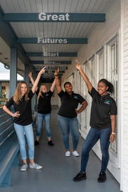 Emma, left, Yazmine, Mariyah and Zhianna are the Boys & Girls Clubs of Martin County 2019 Youth of the Year candidates. The annual Youth of the Year Awards Celebration will take place Feb.25 at Willoughby Golf Club in Stuart.