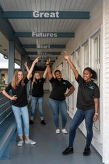 Emma, left, Yazmine, Mariyah and Zhianna are the Boys & Girls Clubs of Martin County 2019 Youth of the Year candidates. The annual Youth of the Year Awards Celebration will take place Feb. 25 at Willoughby Golf Club in Stuart.