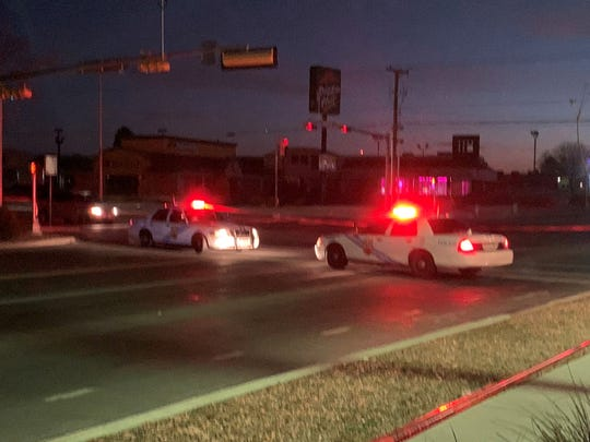 Portions of Trawood were closed off after an El Paso police officer was involved in a shooting early Monday at an apartment complex off Trawood in East El Paso.