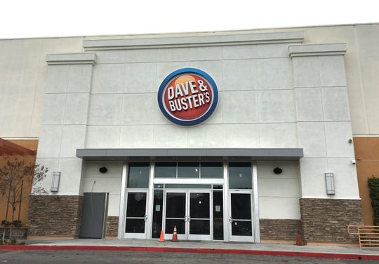The Thousand Oaks location of Dave & Buster's is under construction at the former Sports Authority site in the Janss Marketplace.