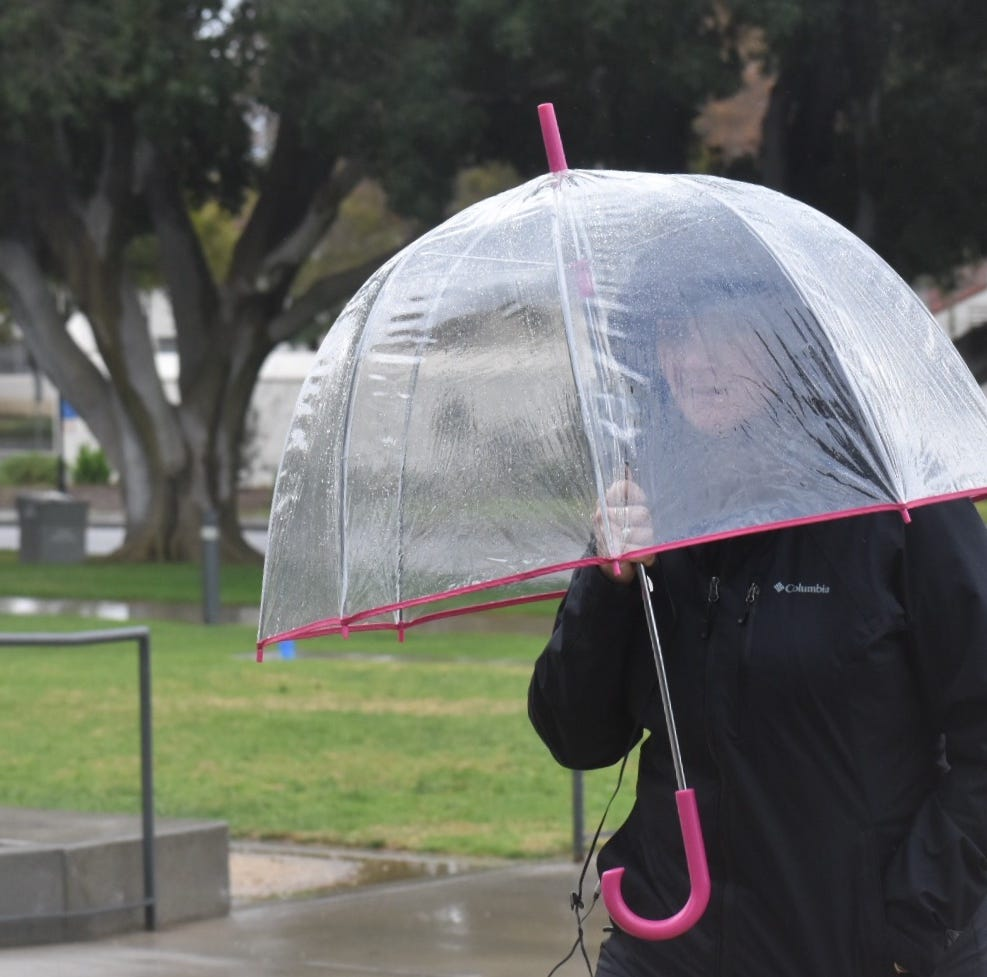 Storm brings nearly an an inch of rain to some parts of Ventura County