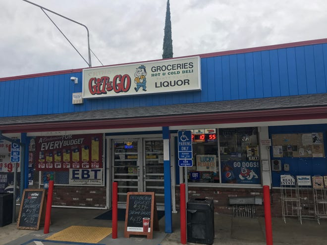 A man brought a check into Visalia's Git & Go to cash, but employees believed the check was fake. They refused to accept the check and called 911.