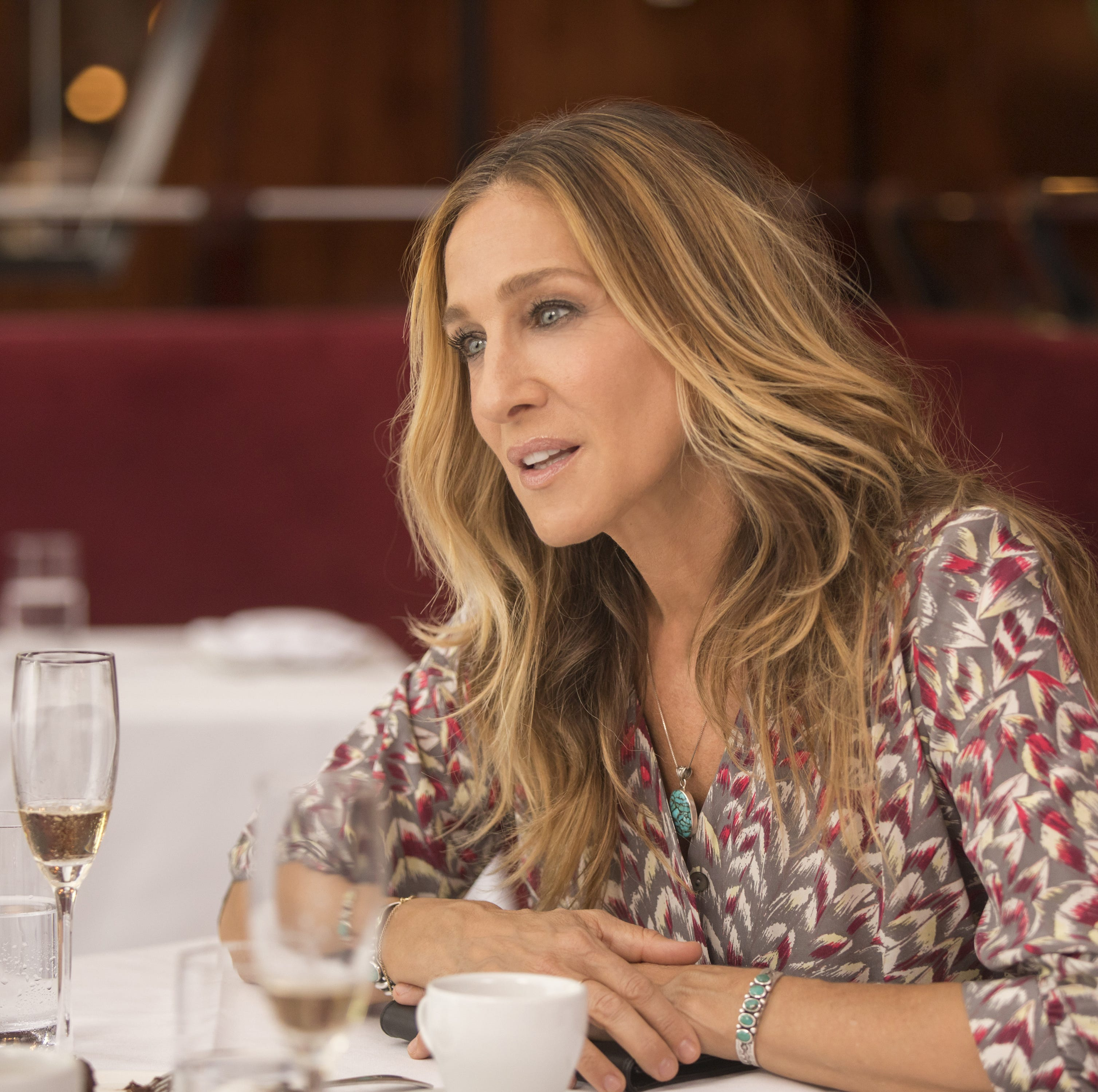 Sarah Jessica Parker's 'Divorce' filming in Tarrytown today