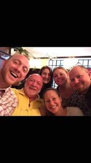 Ossie Dahl family selfie