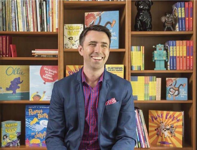 Jarrett J. Krosoczka, children's author and illustrator