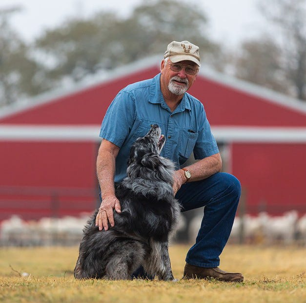 American Farm Bureau honors Woody as Farm Dog of the Year